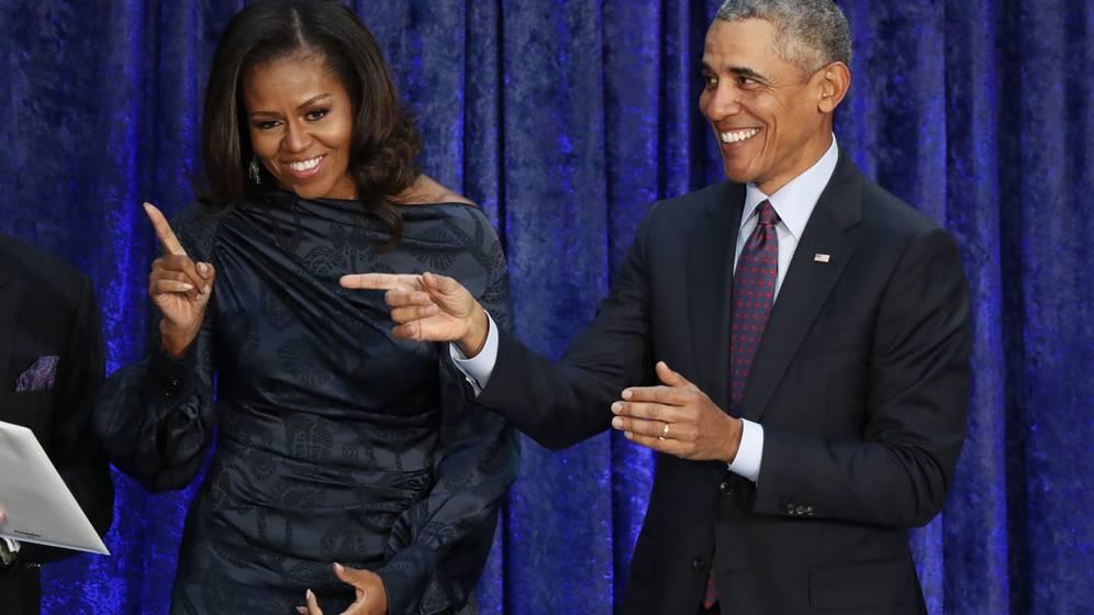 Foto: Michelle Obama y su marido Barack Obama. (Reuters)