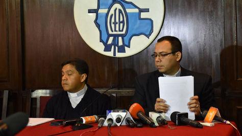 Miembros de la directiva nacional de la Conferencia de Religiosas y Religiosos se pronuncian sobre el caso de la monja del asilo San Ramón. Foto: APG