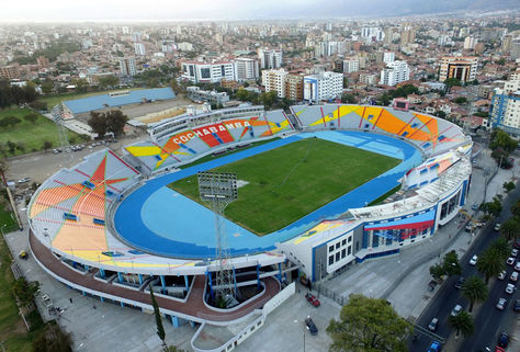 Vista del estadio Félix capriles, la sede de la inauguración y clausura. Foto: Archivo