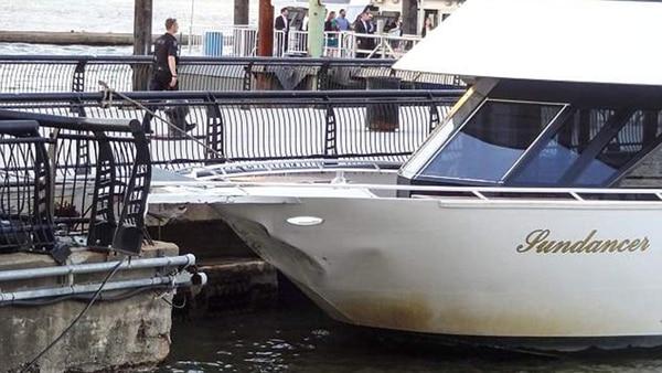 Las embarcaciones sufrieron importantes daños