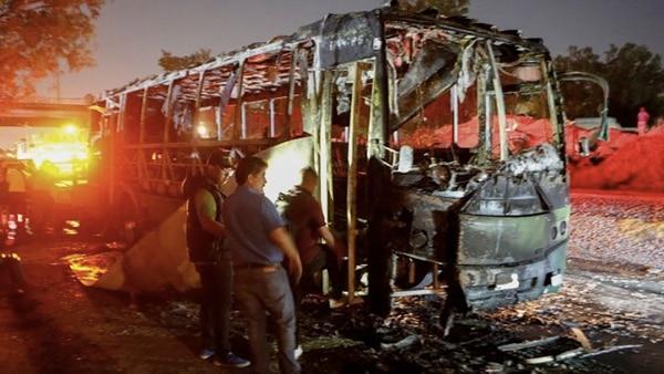 Un total de 16 personas resultaron heridas en Guadalajara luego de la última acción del CJNG. (Foto: EFE)