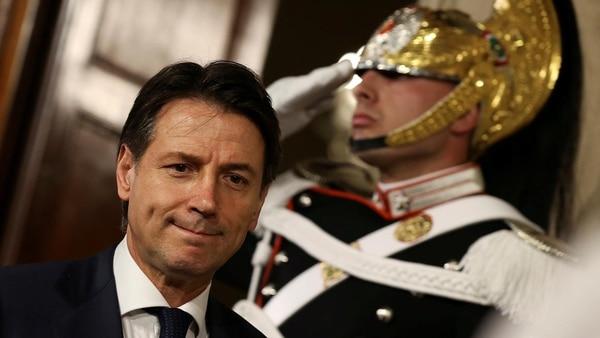 Guiseppe Conte rechazó formar Gobierno (Reuters)