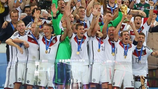 Alemania se consagró como campeón en el último Mundial de Brasil 2014 (Foto: Getty Images)