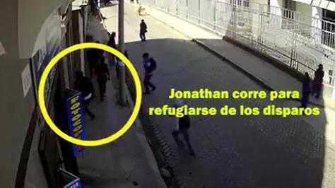 Captura del video difundido por la UPEA