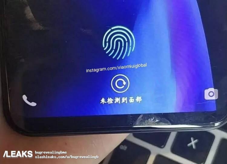 Foto en la que se muestra el Xiaomi Mi 8 SE con sensor de huellas en la pantalla