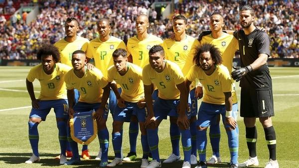 Brasil comparte el Grupo E con Serbia, Costa Rica e Suiza (Reuters)