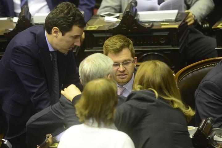 Final del debate por la ley de despenalización aborto en Cámara Diputados. Foto David Fernández