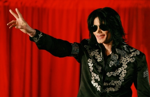 Michael Jackson en una foto tomada en Londres el 5 de marzo de 2009 (AFP/Archivos – Carl DE SOUZA)