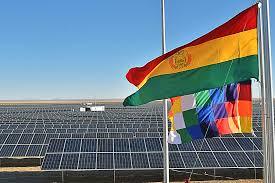 Resultado de imagen para planta solar fotovoltaica en Uyuni