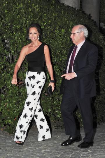 Miguel Boyer e Isabel Preysler en 2011 en Madrid.