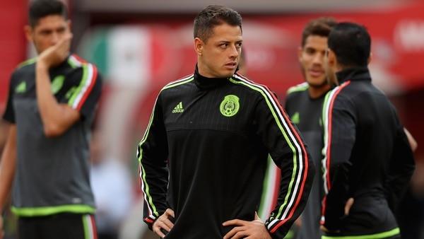 """Javier """"Chicharito"""" Hernández ha considerado dejar la selección mexicana. ( Foto: Getty Images)"""