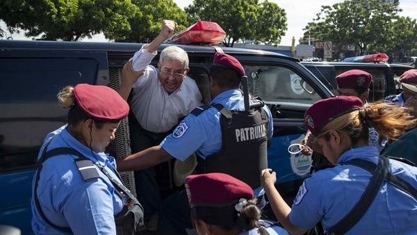 El régimen de Ortega sigue adelante con la represión contra el pueblo nicaragüense (EFE)