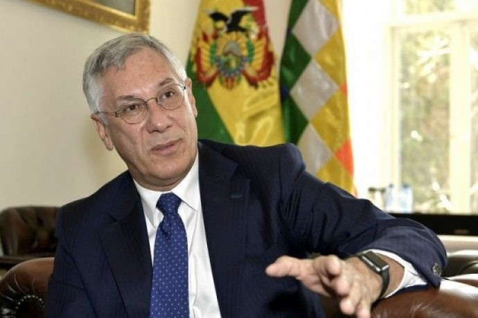 El ex presidente Eduardo Rodríguez Veltzé. FOTO: Archivo ABI