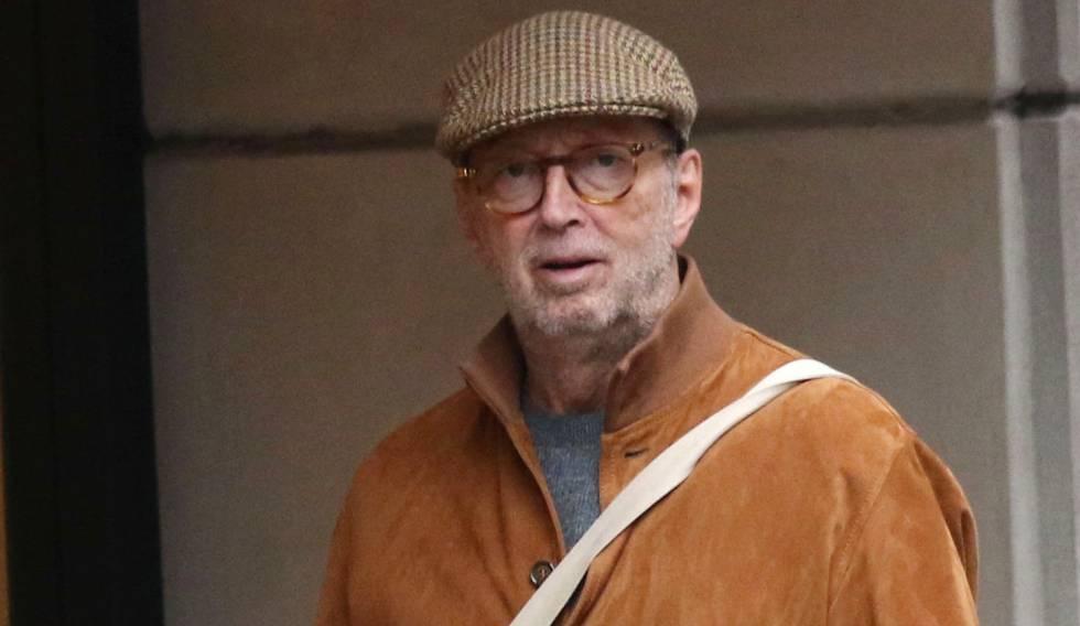 Eric Clapton, por las calles de Nueva York, el pasado 6 de octubre.