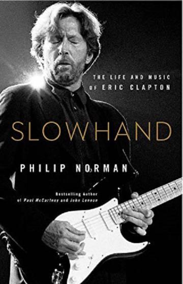 Portada del nuevo libro sobre Eric Clapton, escrito por Philip Norman.