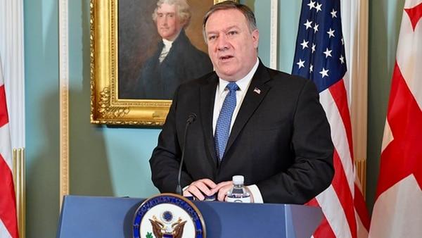 Mike Pompeo, secretario de Estado de los Estados Unidos