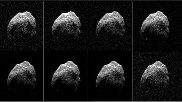 Serie de fotografías captadas desde un telescopio de Hawai