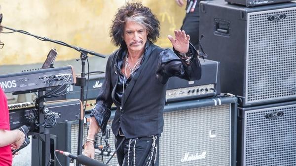 Joe Perry, guitarrista de Aerosmith (The Grosby Group)