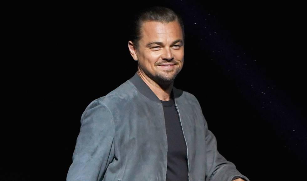 Leonardo DiCaprio en un evento en Las Vegas en pasado 23 de abril.