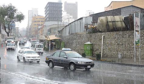 Senamhi alerta lluvias.