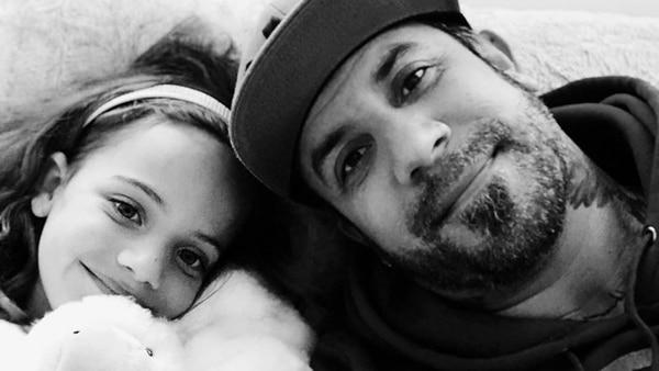 AJ McLean y su hija Ava Jaymes