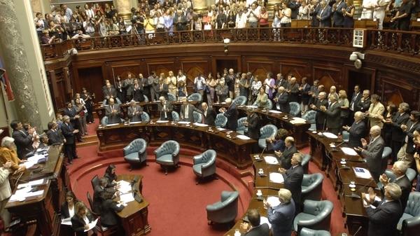 El Congreso uruguayo