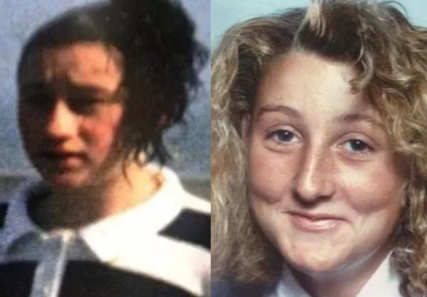 Las hermanas Kerry y Kirsty Russell, fallecidas tempranamente por problemas del corazón. Alguien robaba las flores en la tumba que comparten con sus padres