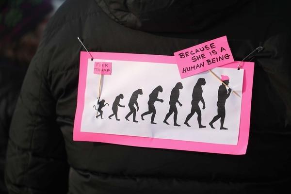 La Marcha de las Mujeres, después de la asunción presidencial, marcó un hito. (Scott Olson/Getty Images/AFP)