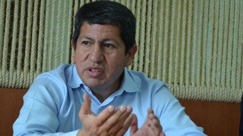El ministro de Hidrocarburos, Luis Alberto Sánchez. Foto:Ministerio de Hidrocarburos