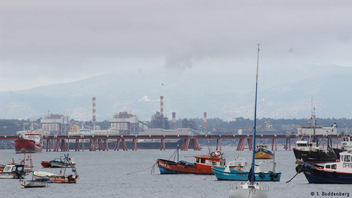Chile | Industriehafen in Quintero (S. Boddenberg)
