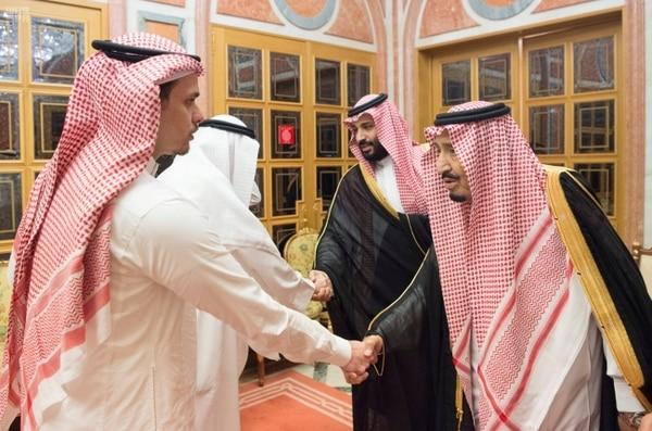 La justicia saudí aseguró que el príncipe no tenía conocimiento de la operación para asesinar a Khashoggi (Saudi Press Agency/Handout via REUTERS)