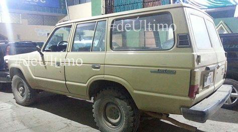 El vehículo de Víctor Nava se encuentra en la FELCC. Foto: Edwin Chura