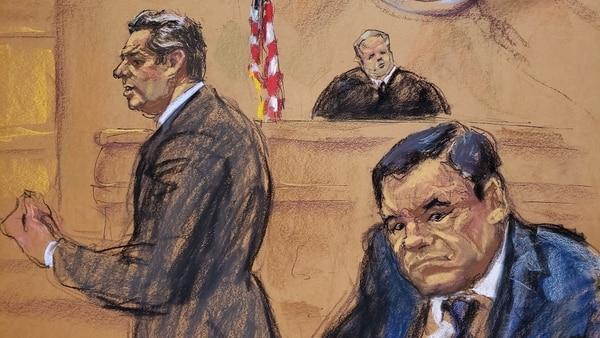 """Durante el juicio al """"Chapo"""" Guzmán, han emergido acusaciones a ex funcionarios mexicanos y aun contra el presidente Peña Nieto. (Foto: EFE)"""