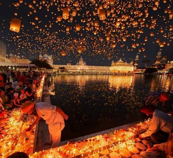 El Diwali celebrá el año nuevo hindú (Foto: @AngeR68)