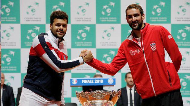 Tsonga vs Cilic y Chardy vs Coric abrirán la fina de Copa Davis