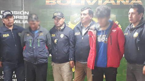 Comunarios implicados en el caso del menor Jhoel Condori. Foto: Radio Líder