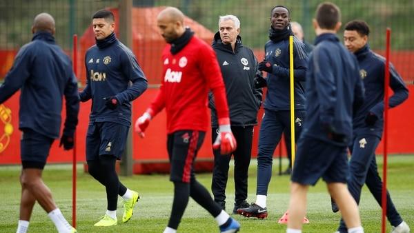 José Mourinho apuntó contra cuatro de sus futbolistas (Reuters/Jason Cairnduff)