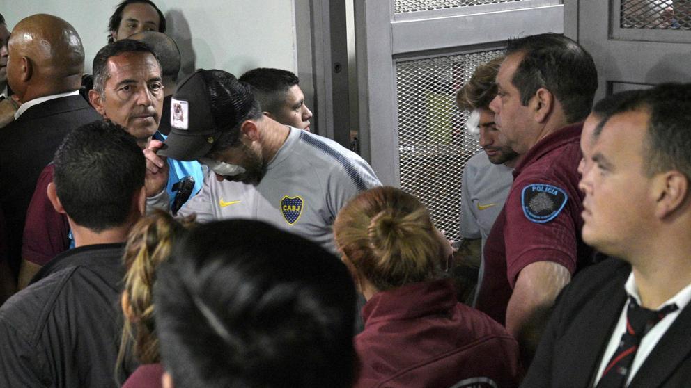 Se suspende la final de la Libertadores por el ataque al bus de Boca