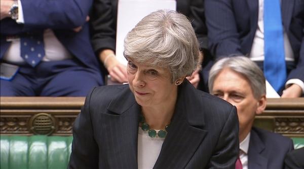 Theresa May deberá defender el acuerdo ante el Parlamento para conseguir una votación favorable (Reuters)