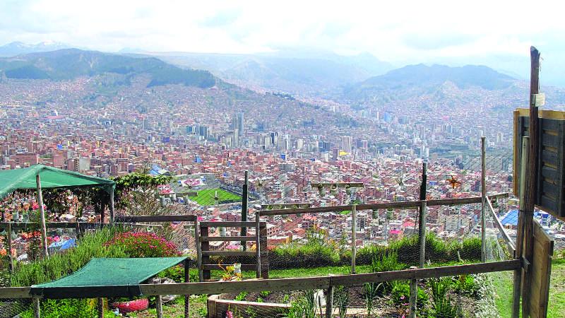 En la cima de La Paz germina la ciudad del mañana