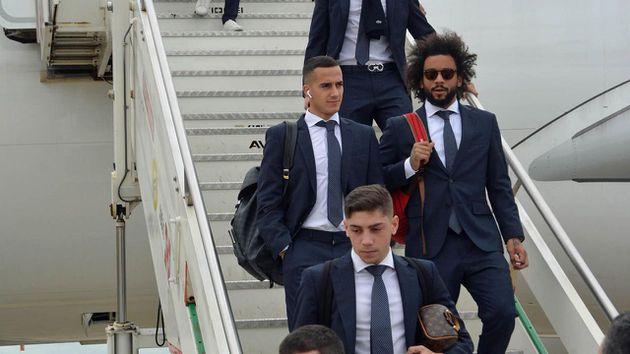 Las múltiples bajas con las que el Real Madrid viajó a Roma