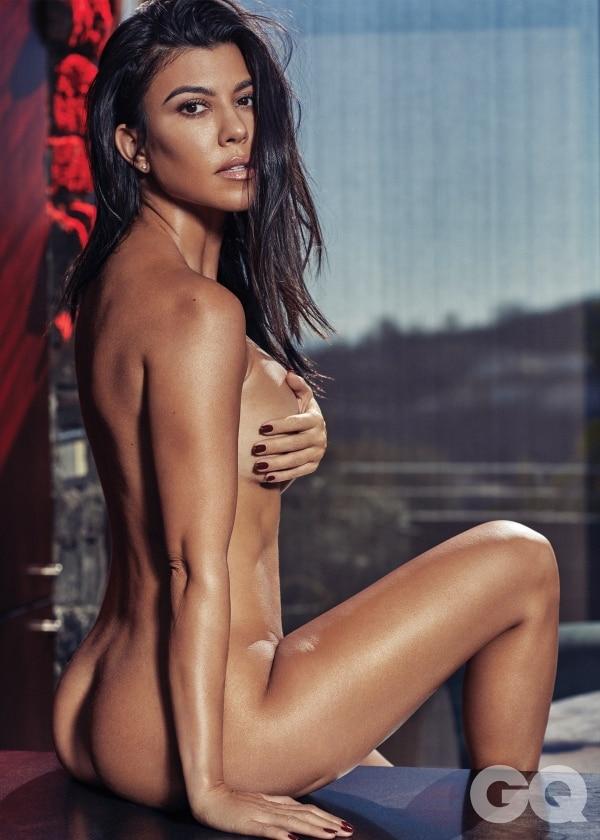 La hermana mayor de las Kardashian demostró que está segura de sí misma, y no le importan las críticas. (Foto: GQ)