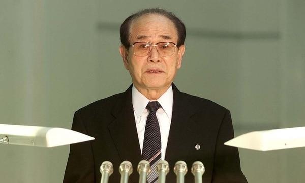 El presidente de la Asamblea Suprema de Corea del Norte, Kim Yong-nam (Reuters/archivo)
