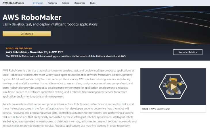 AWS-RoboMaker