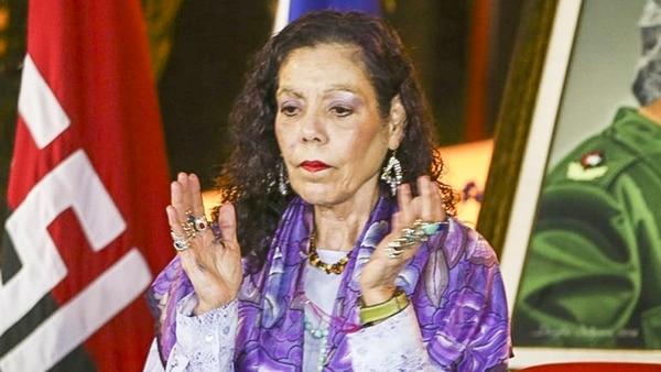 Rosario Murillo(AFP PHOTO / PRESIDENCIA NICARAGUA / JAIRO CAJINA)