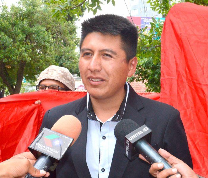 DELEGADO NACIONAL DE PANBOL, FRANZ TORREZ.