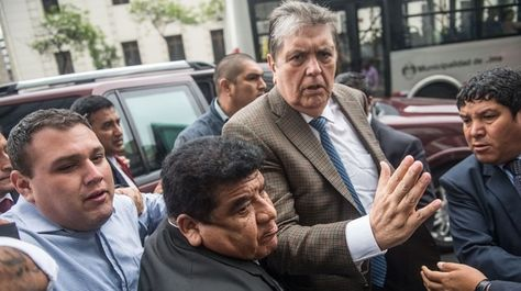 El expresidente peruano, Alan García, es investigado en el caso Odebrecht. Foto: AFP