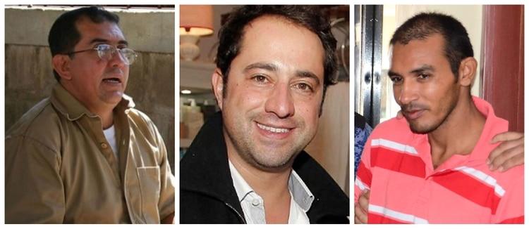 El violador serial de niños Luis Fernando Garavito, Rafael Uribe Noguera y el asesino serial conocido como el Monstruo de la soga.