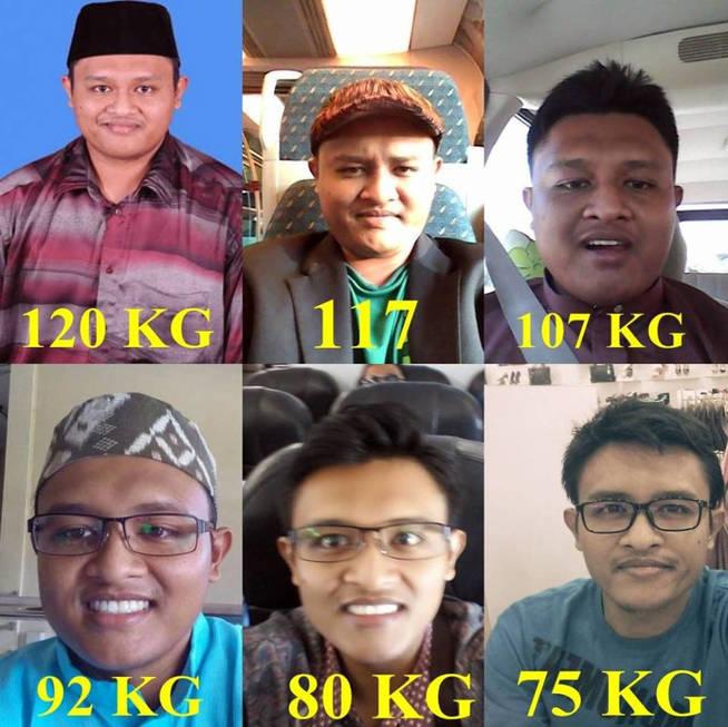 Así fue el proceso de adelgazamiento: 45 kilos perdidos en tres meses (Foto: Facebook)