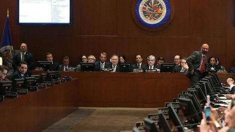 La OEA se encuentra dividida por crisis de Venezuela.